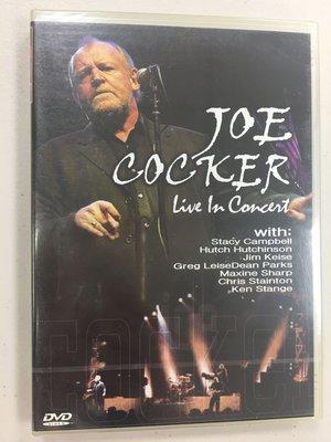 JOE COCKER LIVE in Concert DVD,全新未拆