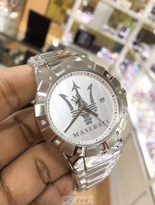 請支持正貨,瑪莎拉蒂手錶MASERATI名牌錶TRIDENTE款(已停產)