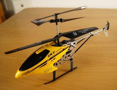 TY911T  航太鋁合金 耐摔 遙控直升機 3.5動 帶陀螺儀 送USB線 尾翼 ( Syma 司馬 S107g 優 ) 台南市