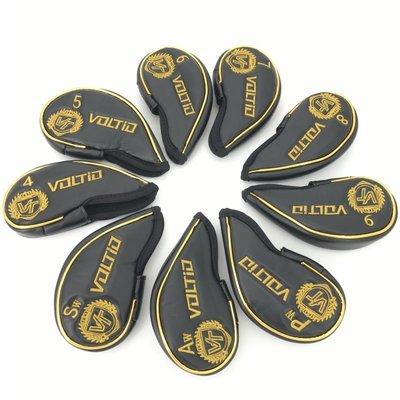 【KOKO】KATANA新款高爾夫鐵桿套高檔PU桿頭套繡花帽套男女款球桿保護套