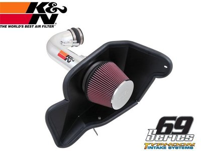 【Power Parts】K&N Typhoon-颱風系列 69-3535TP FORD MUSTANG 2015-