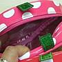 *凱西小舖*日本進口三麗歐正版芝麻街艾摩ELMO草莓造型收納/化妝包