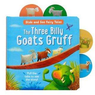 【Ace書店】The Three Billy Goats Gruff 三隻山羊英語童話操作書(硬頁書)