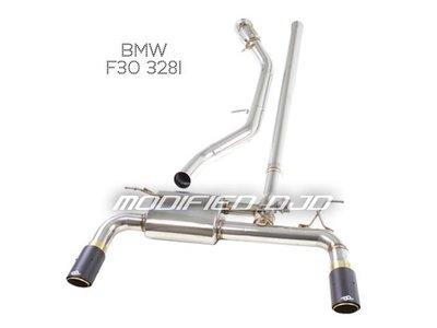 [PORSCHE排氣管]DJD 16 AD-H0906 BMW F30 328i 有觸媒頭段排氣管特惠組90000元