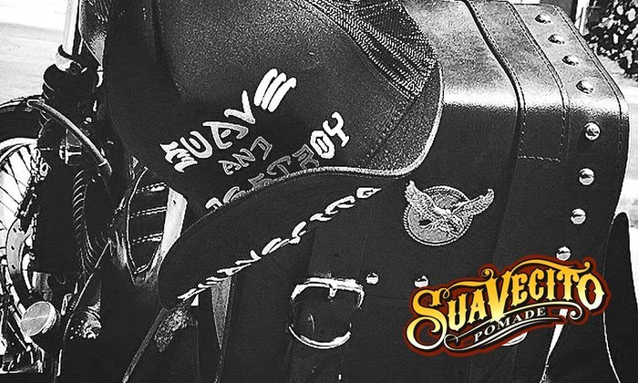 GOODFORIT / 加州Suavecito同名帽款Suave and Destroy Snapback網帽/上翻帽簷