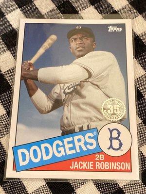 Jackie Robinson 2020 Topps Update Series 35th Anniversary #85TB-10