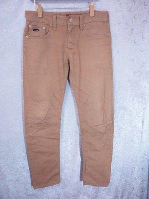 99元起標~UPSET COMPANY~咖啡色系休閒長褲~SIZE:32