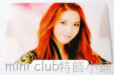 mini club特飾小鋪**全新 韓國組合 少女時代 允兒 Yoona 八達通貼紙 卡貼 保護貼  $10/3張(特)**A7