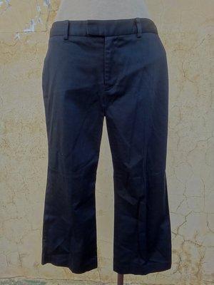 jacob00765100 ~ 正品 SINGLE NOBLE 獨身貴族 黑色 彈性八分褲 size: L