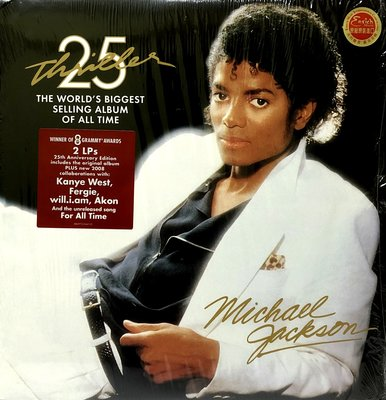 麥可傑克森Michael Jackson / THRILLER-黑膠唱片