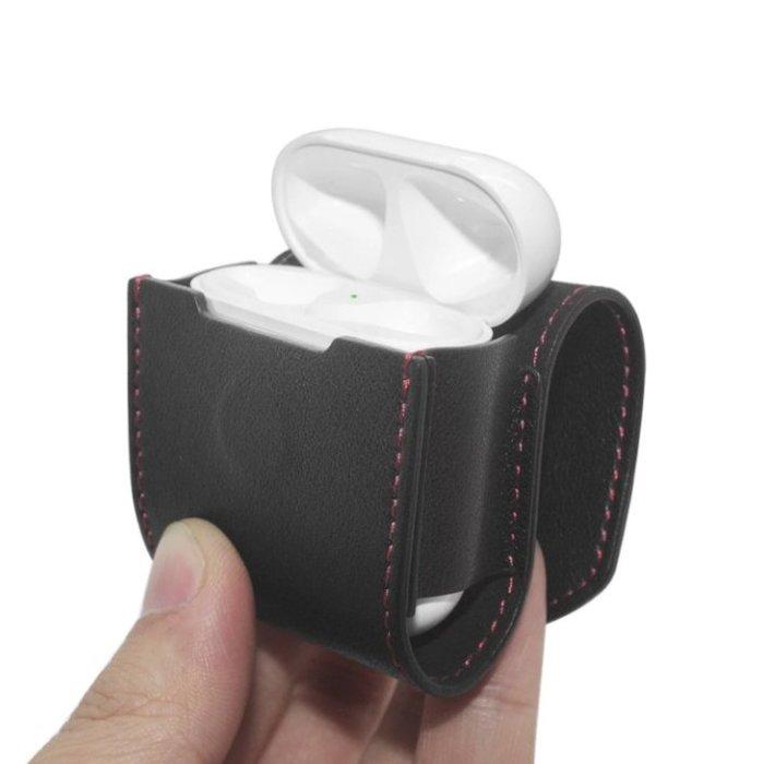 AHA Style Apple AirPods 無線耳機 皮質 收納 保護套