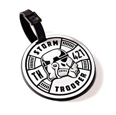預購 美國帶回 Star Wars 星際大戰 Storm Trooper 帝國風暴兵 行李吊牌 旅行 出遊 粉絲最愛