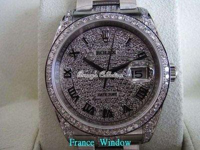 法國巴黎坊rolex滿天星鑽表鑽石等級d-if