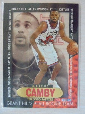 96-97 Hoops Grant's All-Rookie Team Marcus Camby