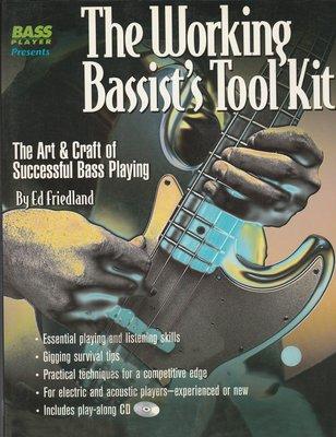 【音樂/最後一本/特價/非二手/英語原文】The Working Bassists Tool Kit