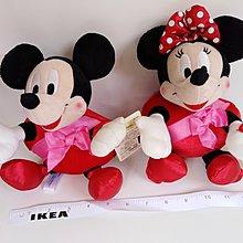 全新迪士尼 Disney 米奇 Mickey Mouse 米妮 Minnie Mouse心心 公仔