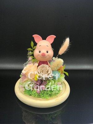 Piglet 豬仔 Winnie the poon 保鮮花