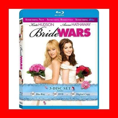 【BD藍光】新娘大作戰:三碟限定版(台灣繁中字幕)Bride Wars悲慘世界 穿著PRADA的惡魔 安海瑟薇