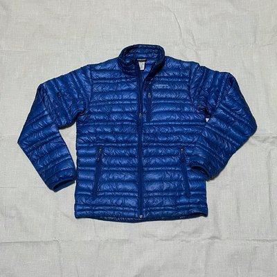藍 XS patagonia ultralight down jacket 極輕 羽絨 外套 輕量 保暖 800 fill