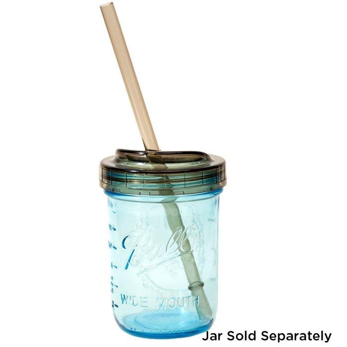 【激安殿堂】Ball 多功能蓋子吸管組 〖寬窄〗(環保吸管 隨行杯蓋 玻璃罐 玻璃瓶 果醬罐 飲料罐 )
