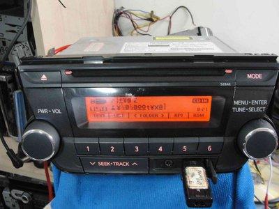 """典藏專區 """"TOYOTA原廠車系""""CQ-JS43GPTT/USB/AUX IN/MP3/藍芽/主機45W*4/泰國製主機"""