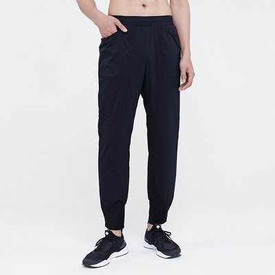 DESCENTE迪桑特 T新RAINING 男新子運動輕質保暖棉褲 D0491TPB91ax