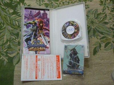 懷舊電玩食堂』《正日本原版、盒書》【PSP】實體拍攝 戰國 BASARA 熱戰英雄 Battle Heros 純日版