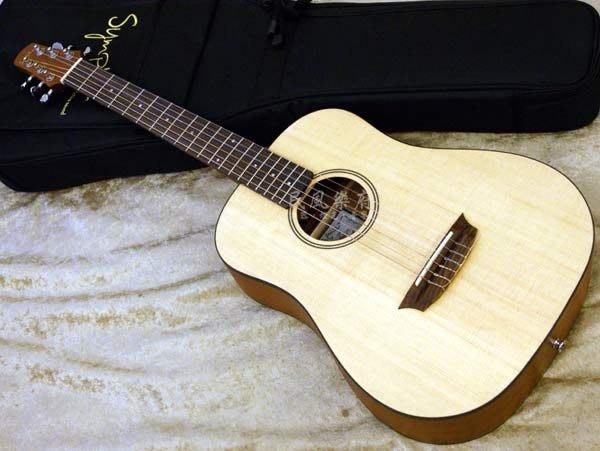 《民風樂府》烏克麗麗轉學吉他的最佳選擇 Sympher Junior-N 單板尼龍弦小吉他 古典吉他