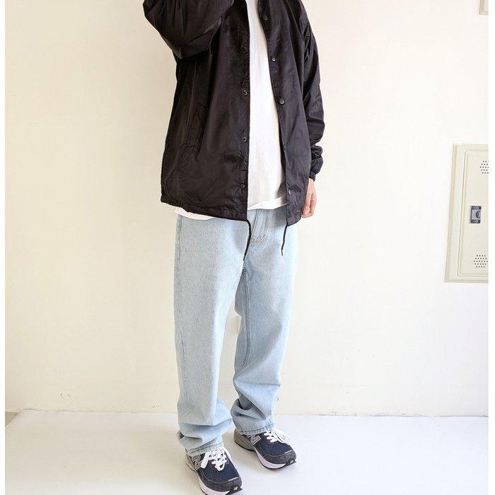 X10  2020 SS  80s  復古  重磅 12.8oz   牛仔褲 單寧  寬褲  直筒  刷色  厚挺