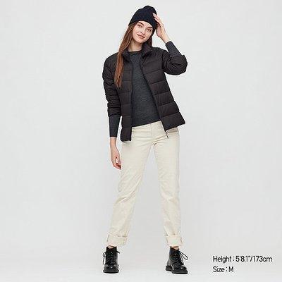 轉賣UNIQLO 女裝 特級極輕羽絨外套 黑色M號