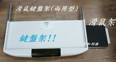 【中和-頂真家具店面專業賣家】全新【台灣製】【ABS塑鋼滑軌式電腦鍵盤架 + 滑鼠盤 滑鼠架