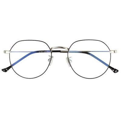 不規則多邊形金屬眼鏡框 超輕眼鏡 Jyxx3