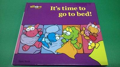 大熊舊書坊- 酷龍寶貝美語 Basic Book It s time to go to bed!  閣林 -15ㄅ