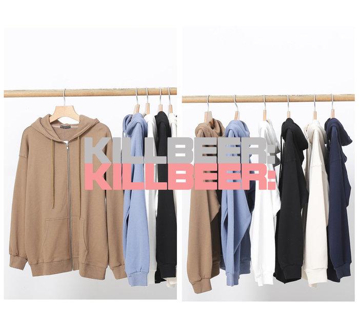 KillBeer:代購✈️✈️BrandyMelville品牌外流美式休閒百搭棉舒適長版連帽外套情侶款男女A080504