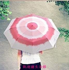 【凱迪豬生活館】INFUN玫瑰花傘 晴雨傘 遮陽三折傘 玫瑰傘 禮物送男友女友KTZ-200952
