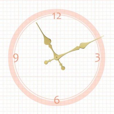 【鐘點站】 J134100G SKP壓針機芯 / 分針13.4公分 時針10公分 / DIY 時鐘 掛鐘 鐘針