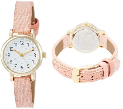 日本正版 Fieldwork ASS123-2 腕錶 女錶 女用 手錶 粉紅色 日本代購