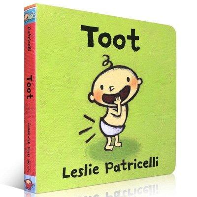 Toot 放屁屁 小毛孩英文繪本 日常行為 Tubby紙板書 0-3歲幼兒英語繪本書Tickle單詞啟蒙X交