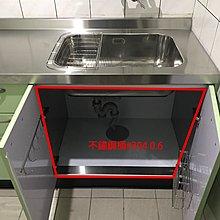 不鏽鋼檯面#304+結晶五面門+木心桶210cm 晶潔廚具工廠直營 門市可參觀 內含不鏽鋼抽 不鏽鋼拉籃 搭配林內二機
