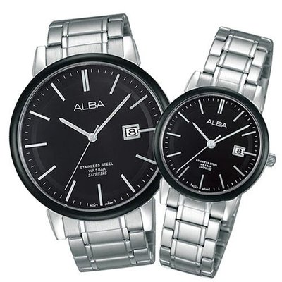 【emma's watch】ALBA 雅柏 日系簡約生活不鏽鋼情侶對錶/  男VJ42-X131D/ 女VJ22-X177D 新北市