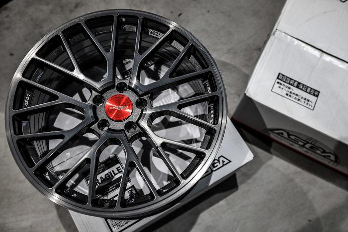 德朋國際 / ASGA ARF08輕量化/旋壓鑄造 經典式樣 可閃多活塞各車系 開賣中