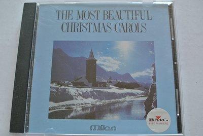 CD ~ THE MOST BEAUTIFUL CHRISTMAS CAROLS ~ 1991 MILAN  無IFPI