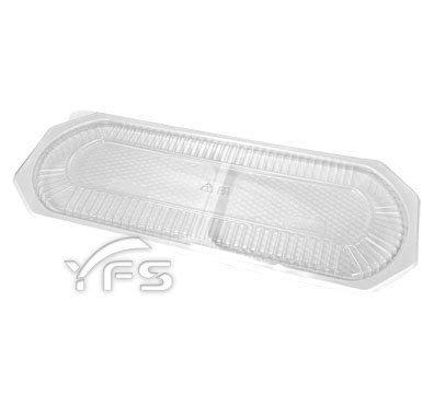 0205雙拼長型盒 (年菜盒/肋排/熱炒/魚/海鮮/塑膠盤/外燴餐盤/外帶餐盤)