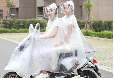 成人雨衣純色 電瓶車透明雨披單防水成人男女紅雨衣zh891 全館免運