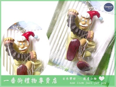 一番街禮物專賣店*日本迪士尼帶回*小木偶的老爺爺吊飾~盒裝~經典禮物!!