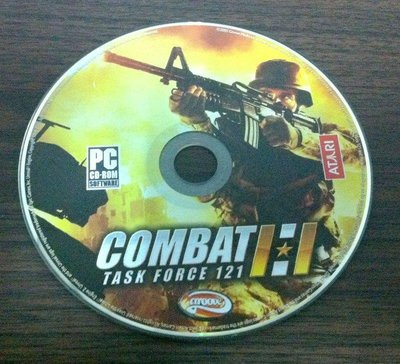 PC GAME_反恐行動Combat: Task Force 121~二手