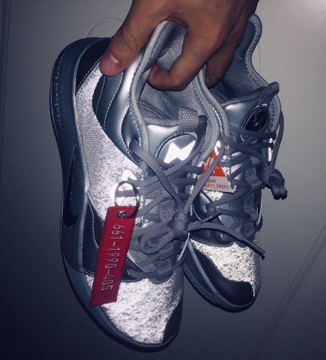 沃皮斯§Nike PG 3 NASA Silver Reflective 反光銀色 籃球鞋 CI2667-001