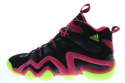 近55折【千里之行】 adidas KOBE CRAZY 8復刻版白黑粉紅籃球鞋
