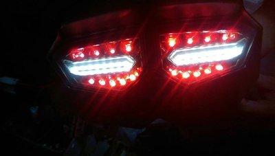 家呈機車精品 BWS尾燈 R6尾燈 小三款式 鐵製品 (單燈具不含鐵殼) 台中市
