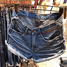 ☆Milan Shop☆網路最低價 正韓Korea獨家款 美刷破中藍A字牛仔單寧短褲S-L$1080(含運)現貨